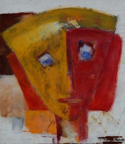Maske | 70 x 80 | 2012