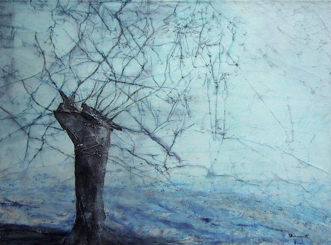 Weide im Winter | 78 x 58 | 2015