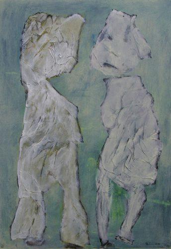 Die Zwei | 70 x 100 | 2017